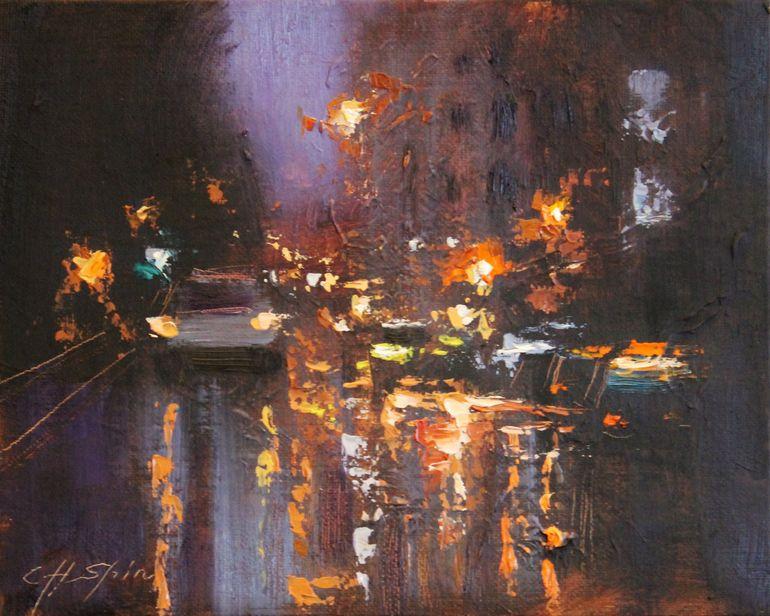 Night Portrait by Chin H. Shin