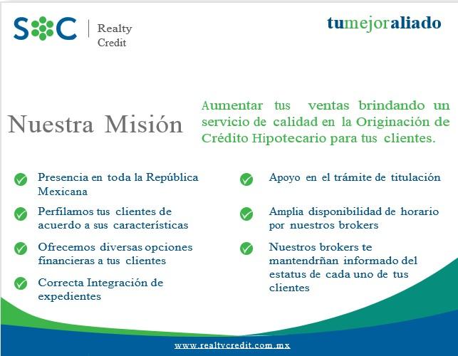 Servicios SOC Realty Credit
