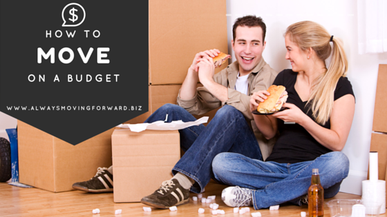 how to move on a budget