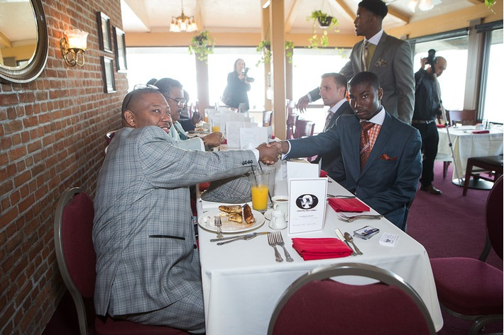 Oxford Way Quarterly Gentleman's Brunch 11.1.14