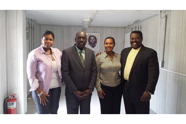 From your left, Mrs. Sabine Martelly (Executive Me