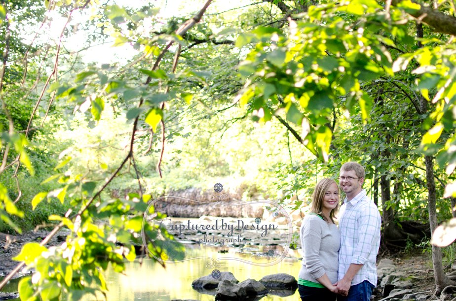 Captured by Design, Mankato Engagement Photograph