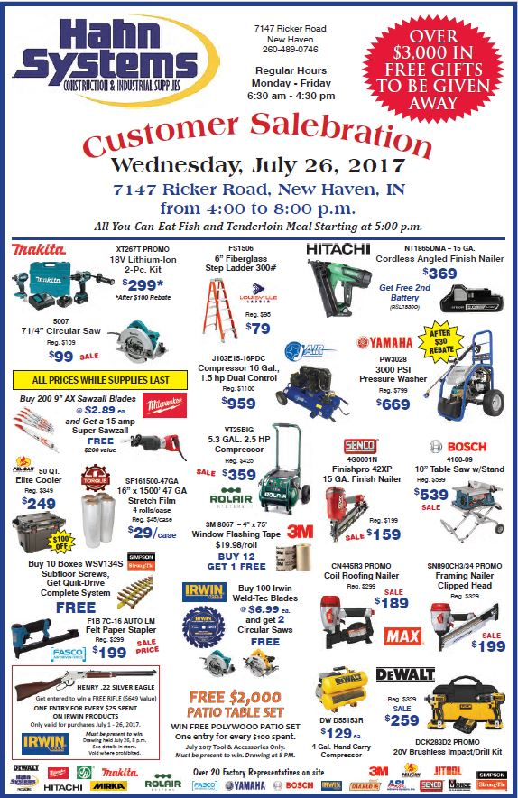 Customer Salebration