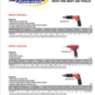 Sioux Air Tools Page 1