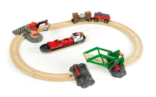 Brio Railway Cargo Harbor Set