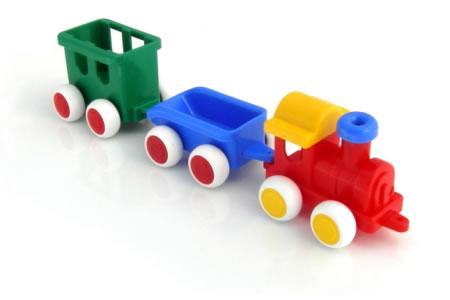 Viking Toys Chubbies Train