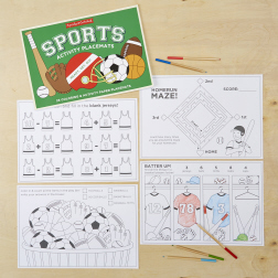 Sports Activity Placemats