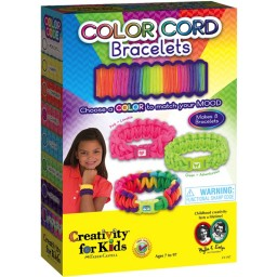 Color Cord Bracelets