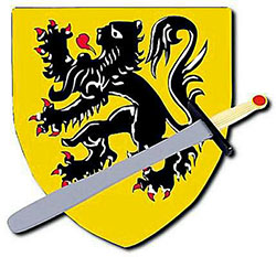 Medieval Wooden Sword & Shield Set