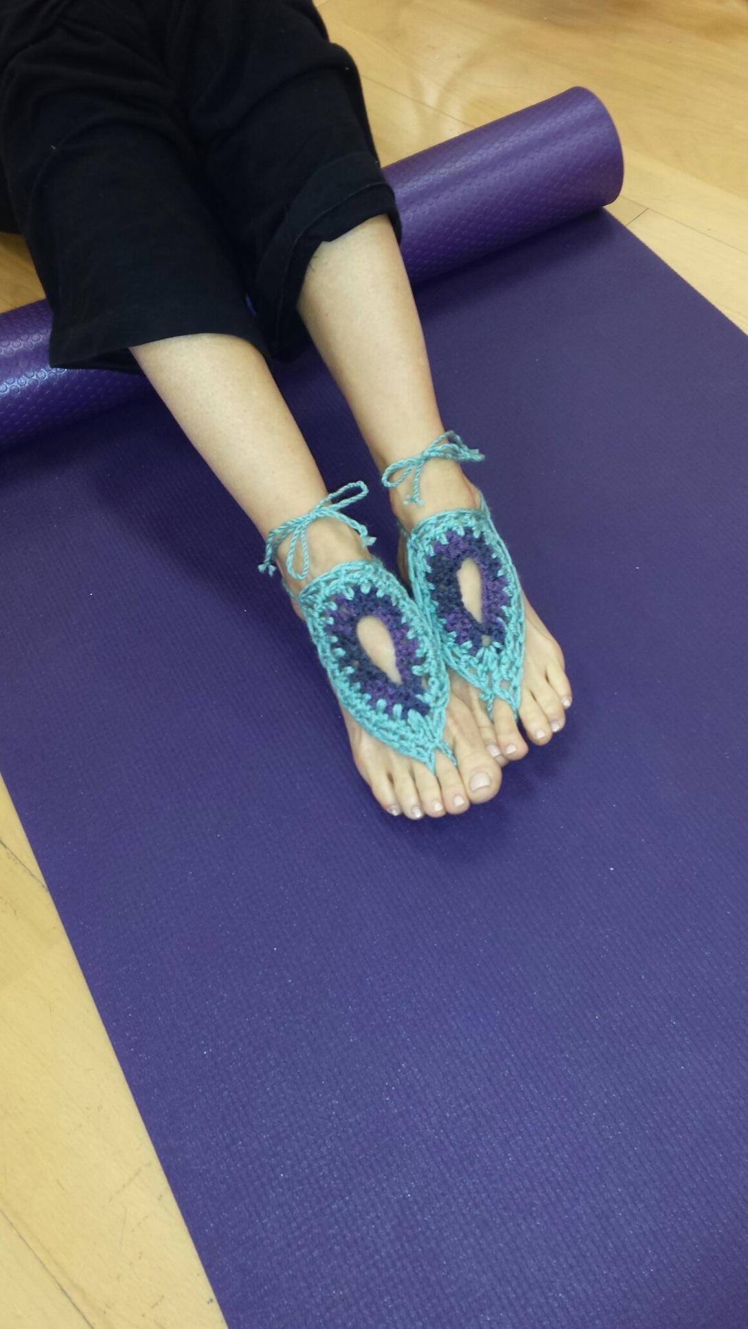 Karma Yoga Foot Cover