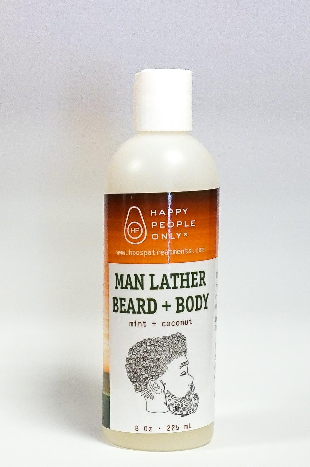 Man Lather Beard + Body
