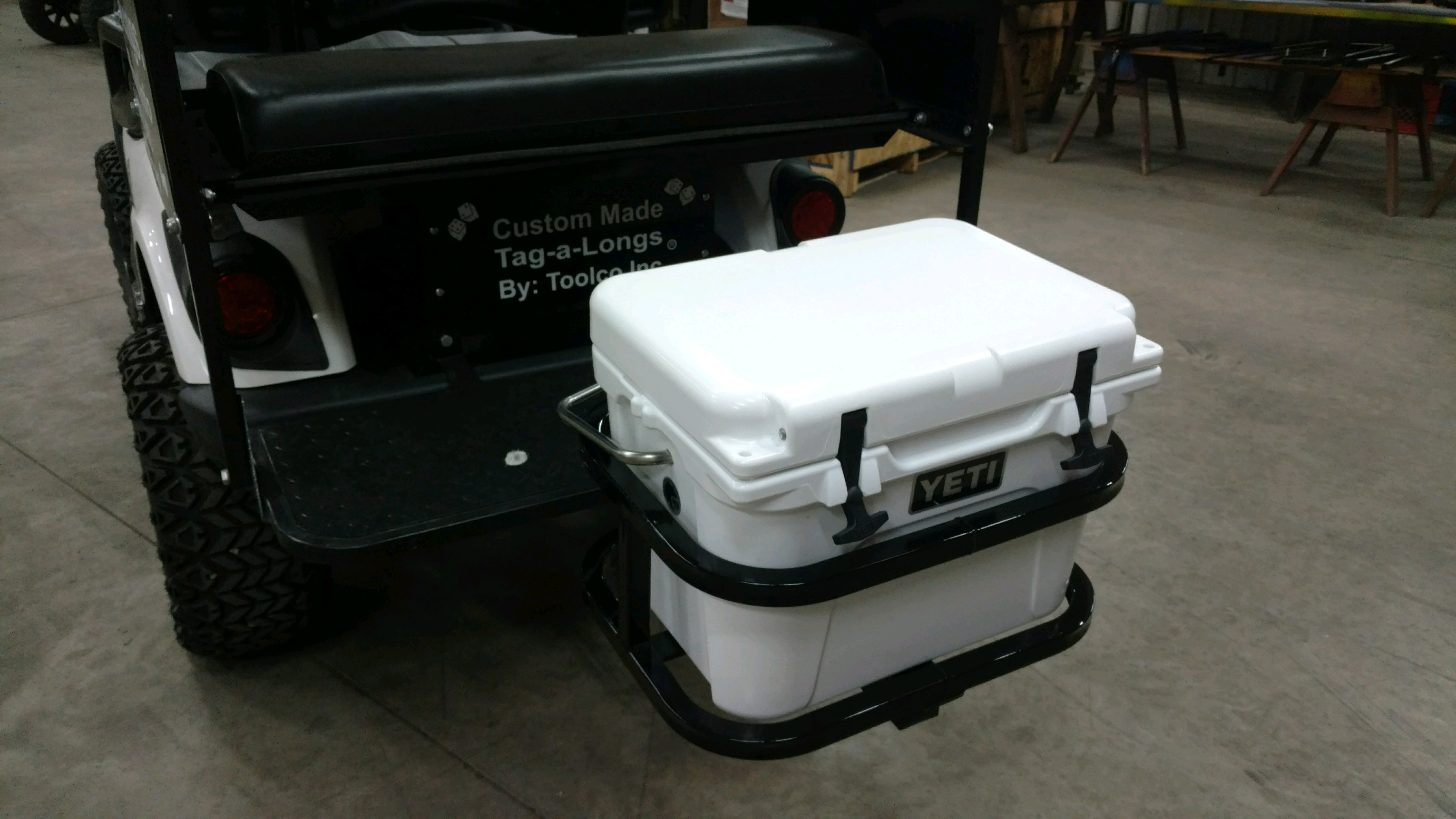RTIC 45 Hitch Cooler Carrier