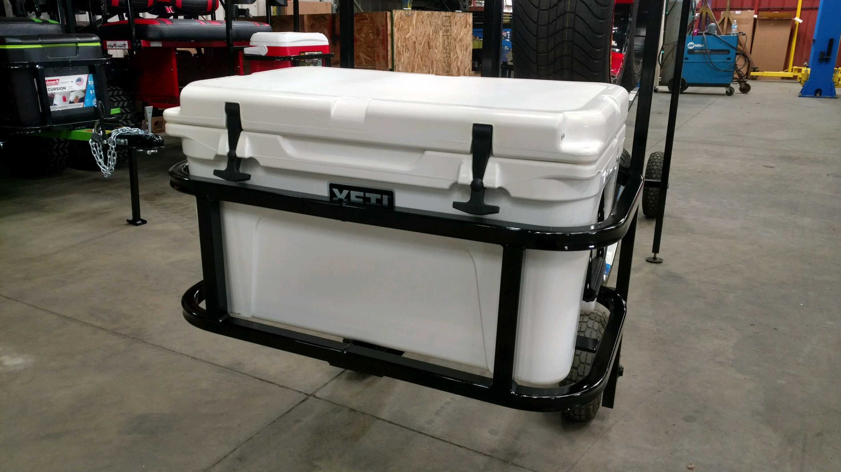 Yeti Tundra 45 Hitch Cooler Carrier