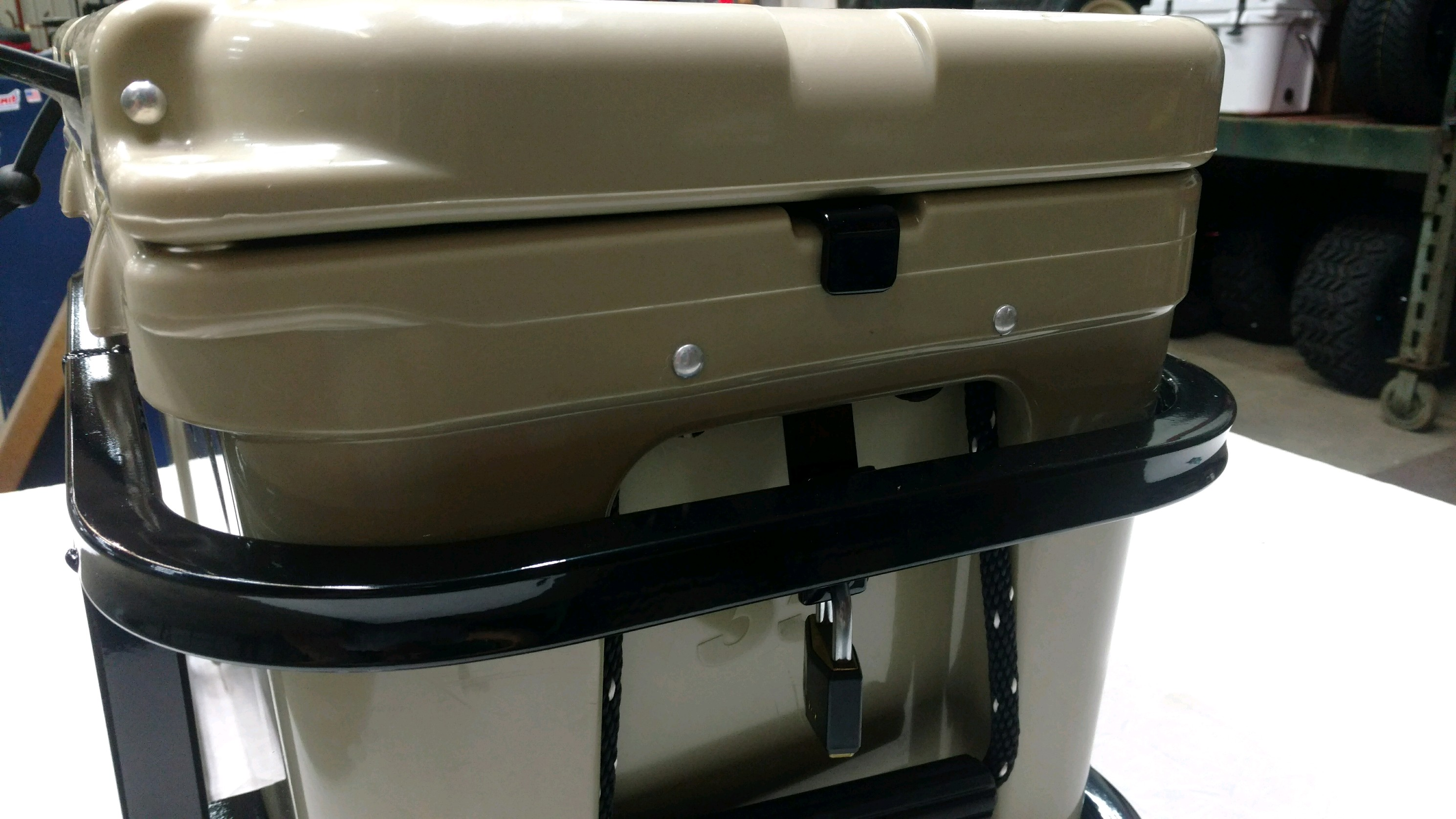 Yeti 35 Cooler Hitch Carrier with lock