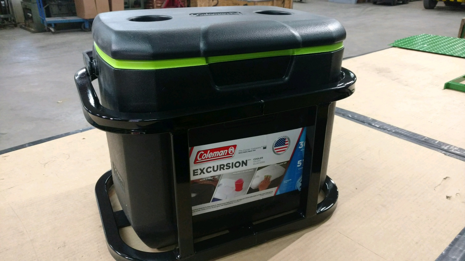 Coleman Hitch Cooler Carrier