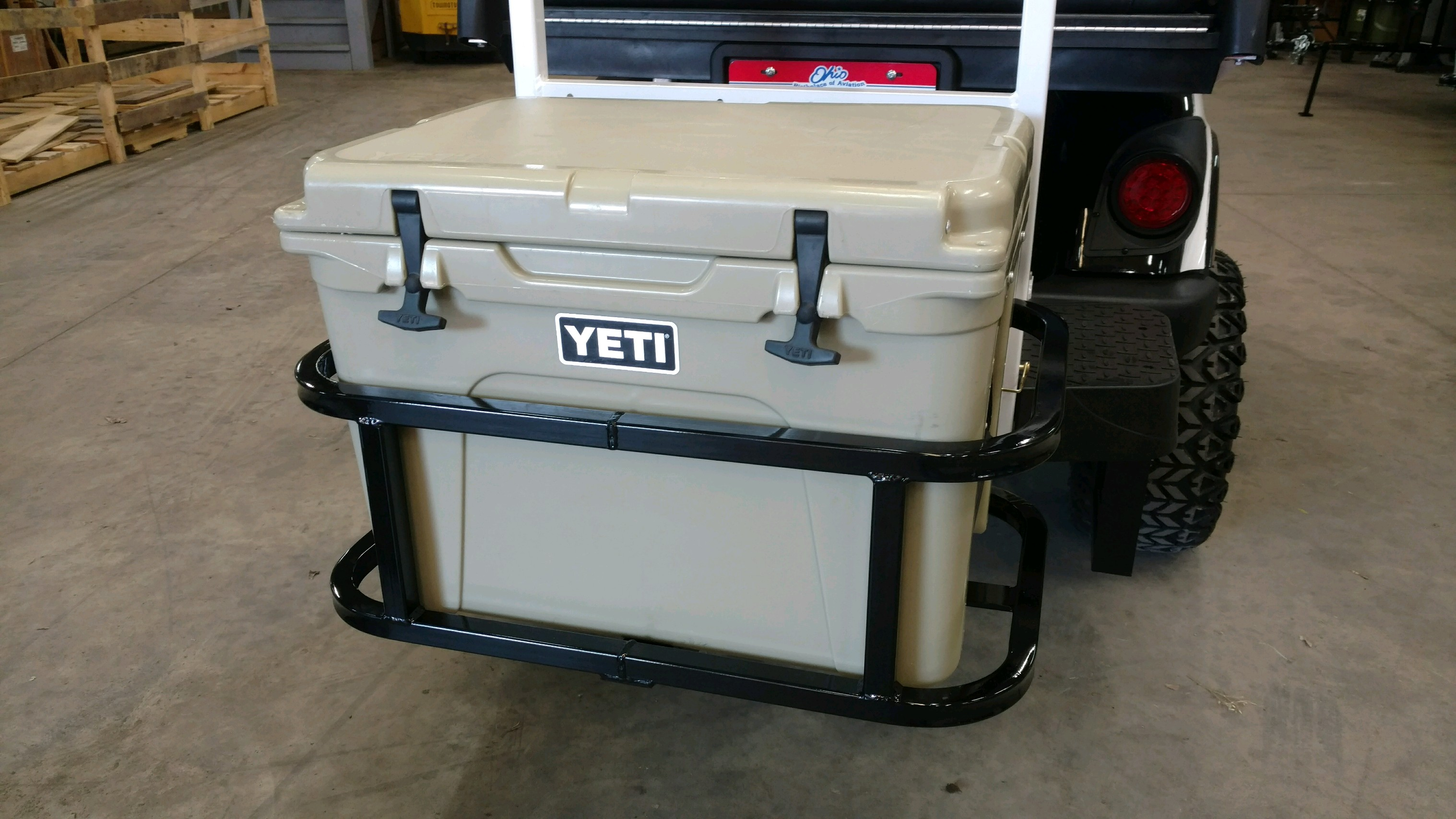 Yeti 50 Hitch Cooler Carrier