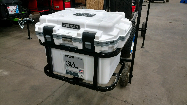 Pelican 30 Hitch Cooler Carrier