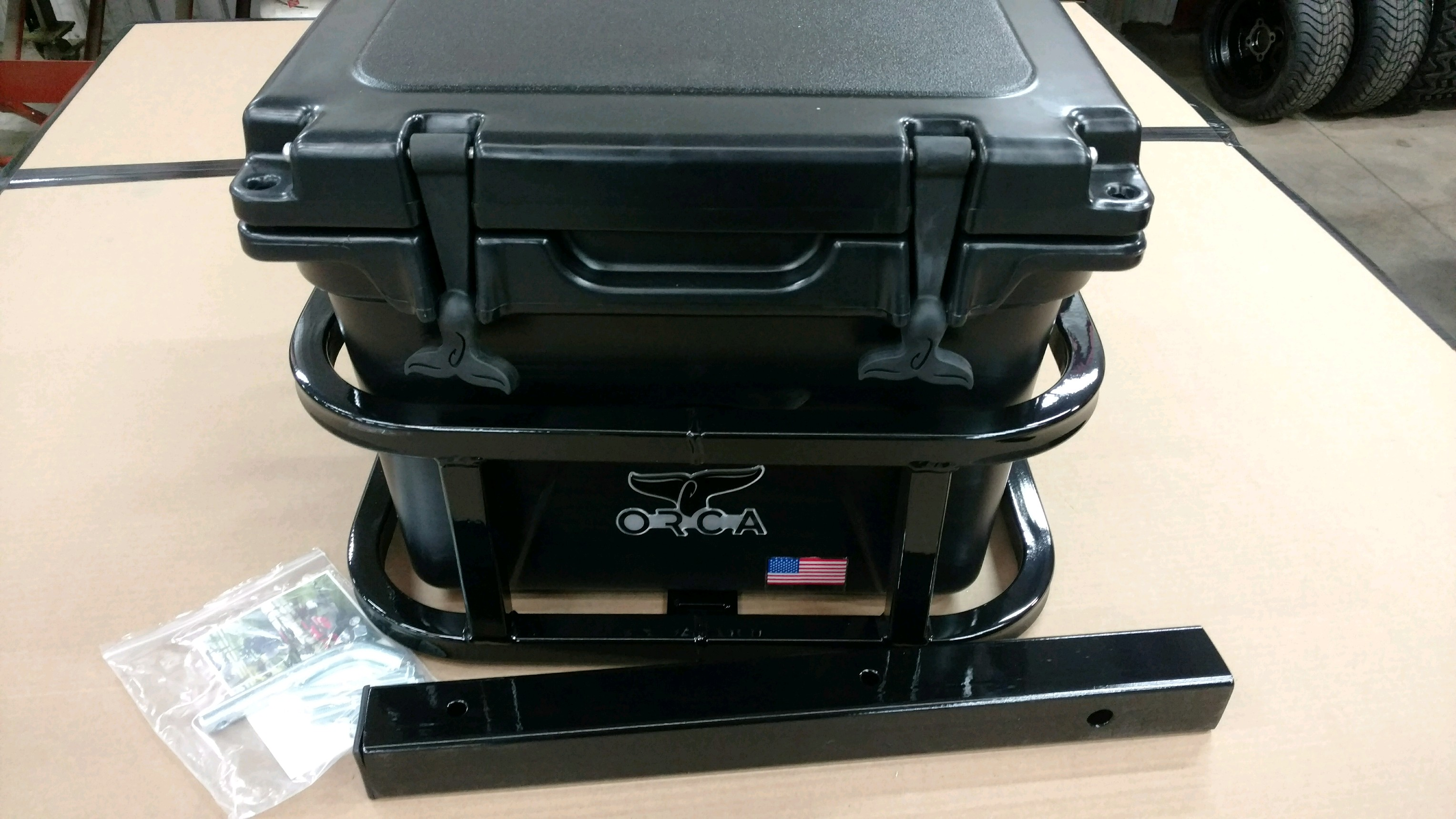 ORCA 20 Hitch Cooler Carrier