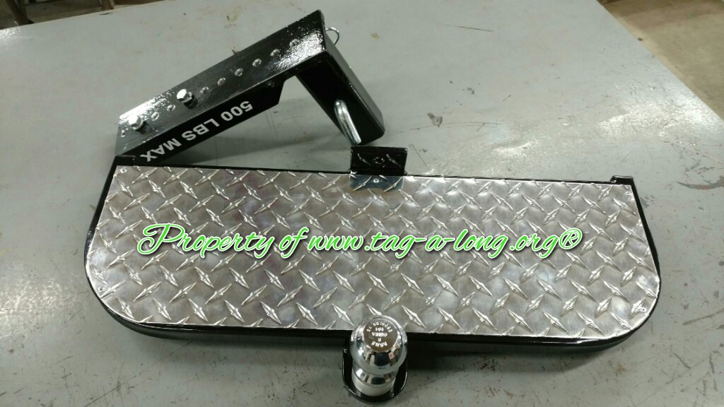 Hitch Step for Golf Cart