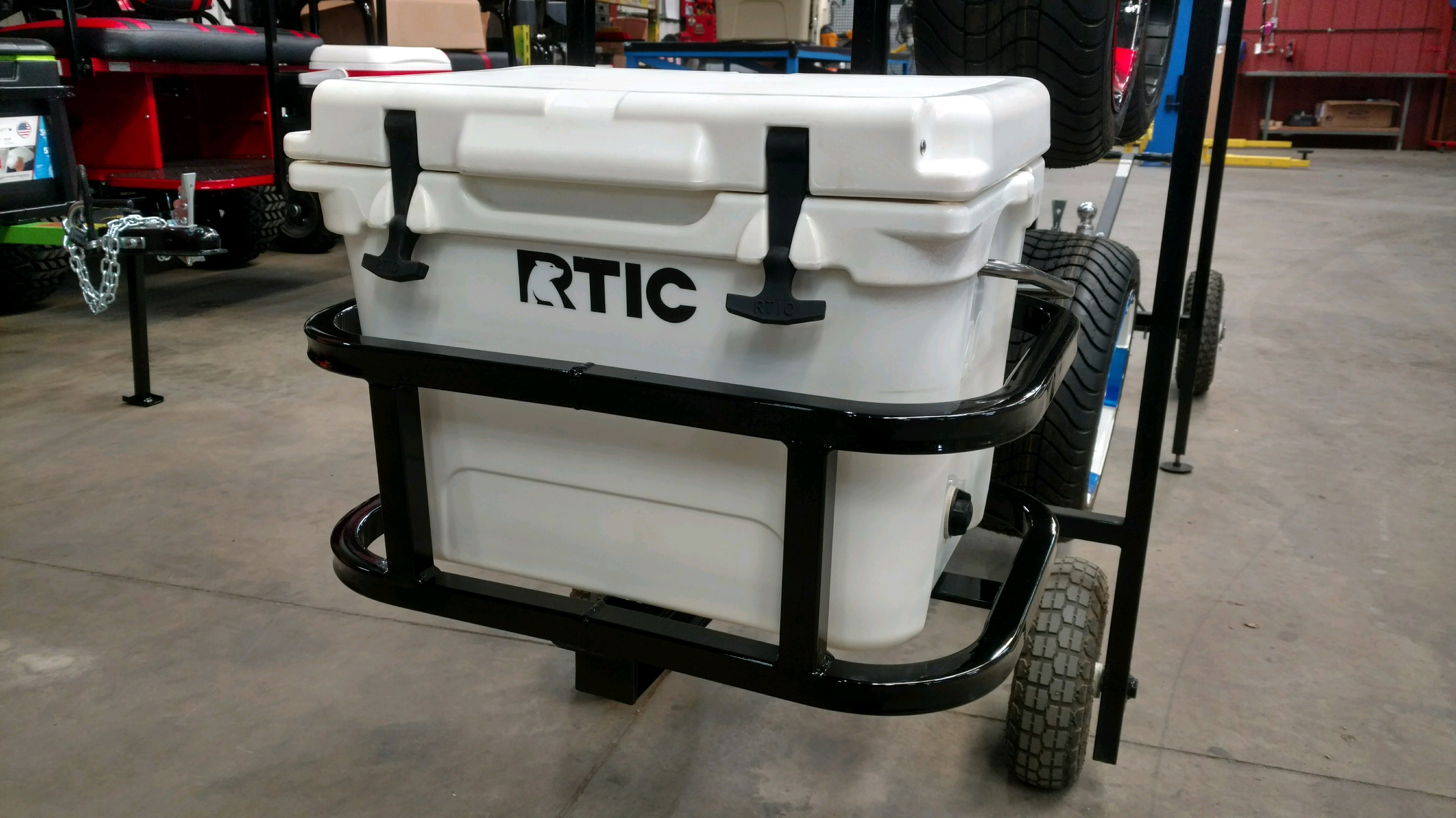RTIC 20/Grizzly 20/Igloo 24 Hitch Cooler Carrier
