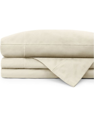 Ionic copper 400 ct LS cotton sheet set- Sesame (half shade darker than Ivory)