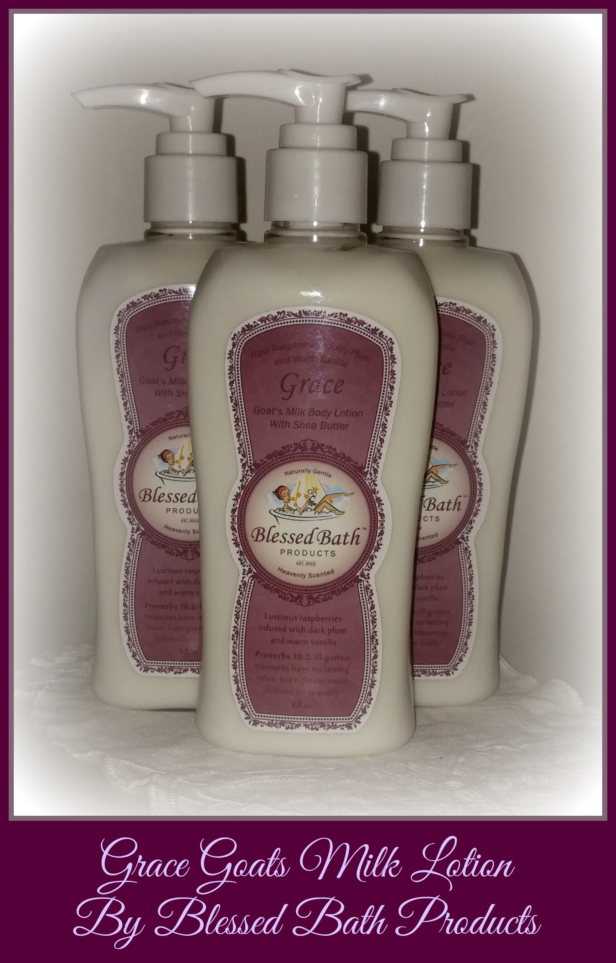Grace Goats Milk Lotion