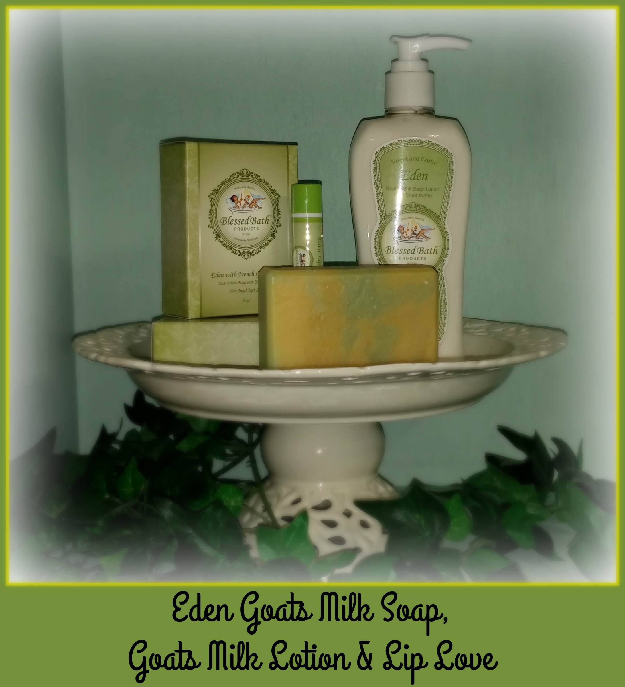 Eden Gift Set with Free Loofah Pocket