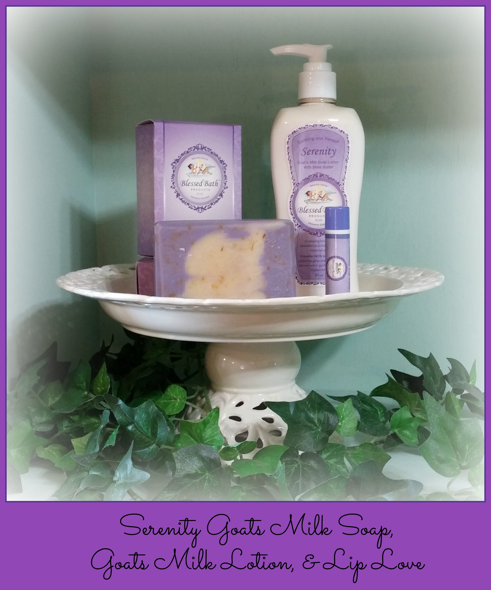 Serenity Gift Set with Free Loofah Pocket