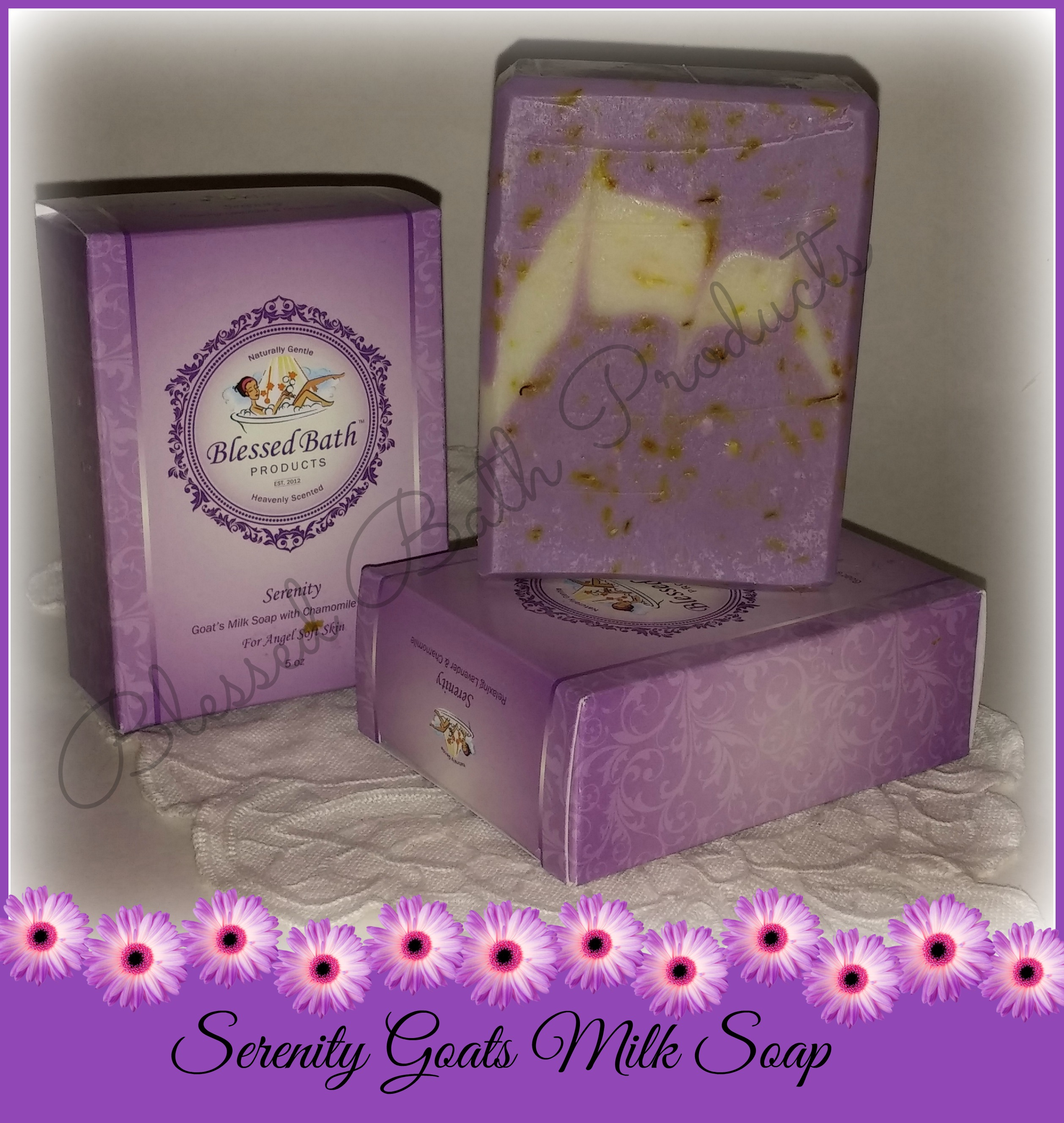 Serenity Goats Milk Soap