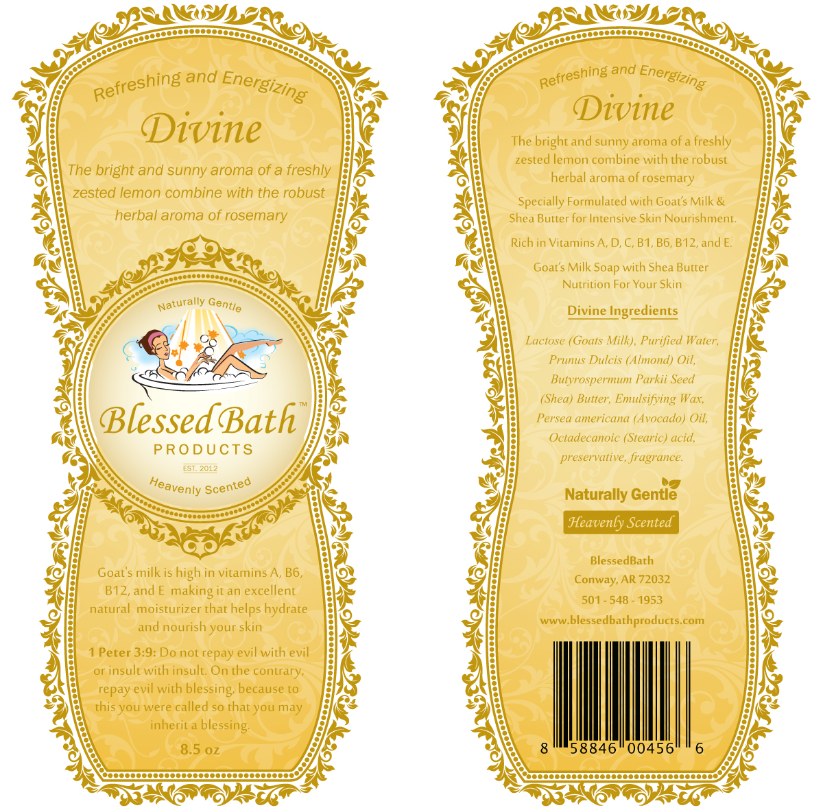 Divine Goats Milk Lotion