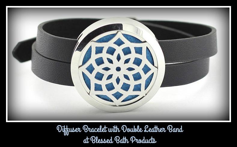 Flower Diffuser Bracelet
