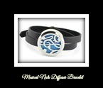 Musical Notes Diffuser Bracelet