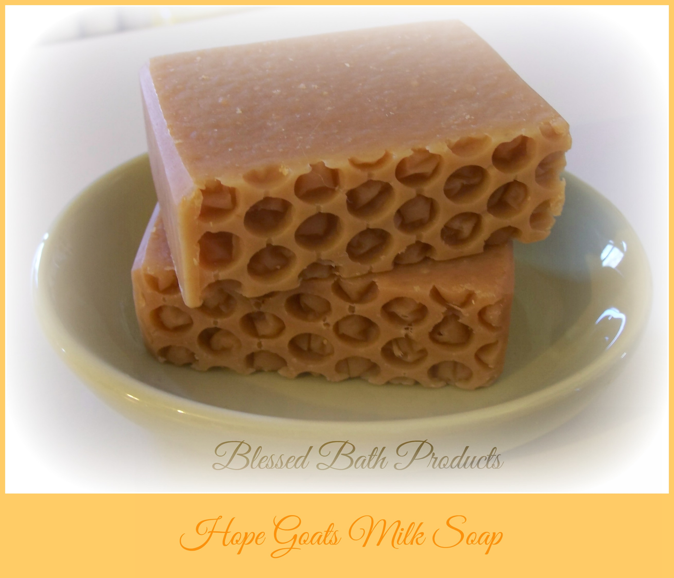 Hope Goats Milk Soap with Ground Oatmeal