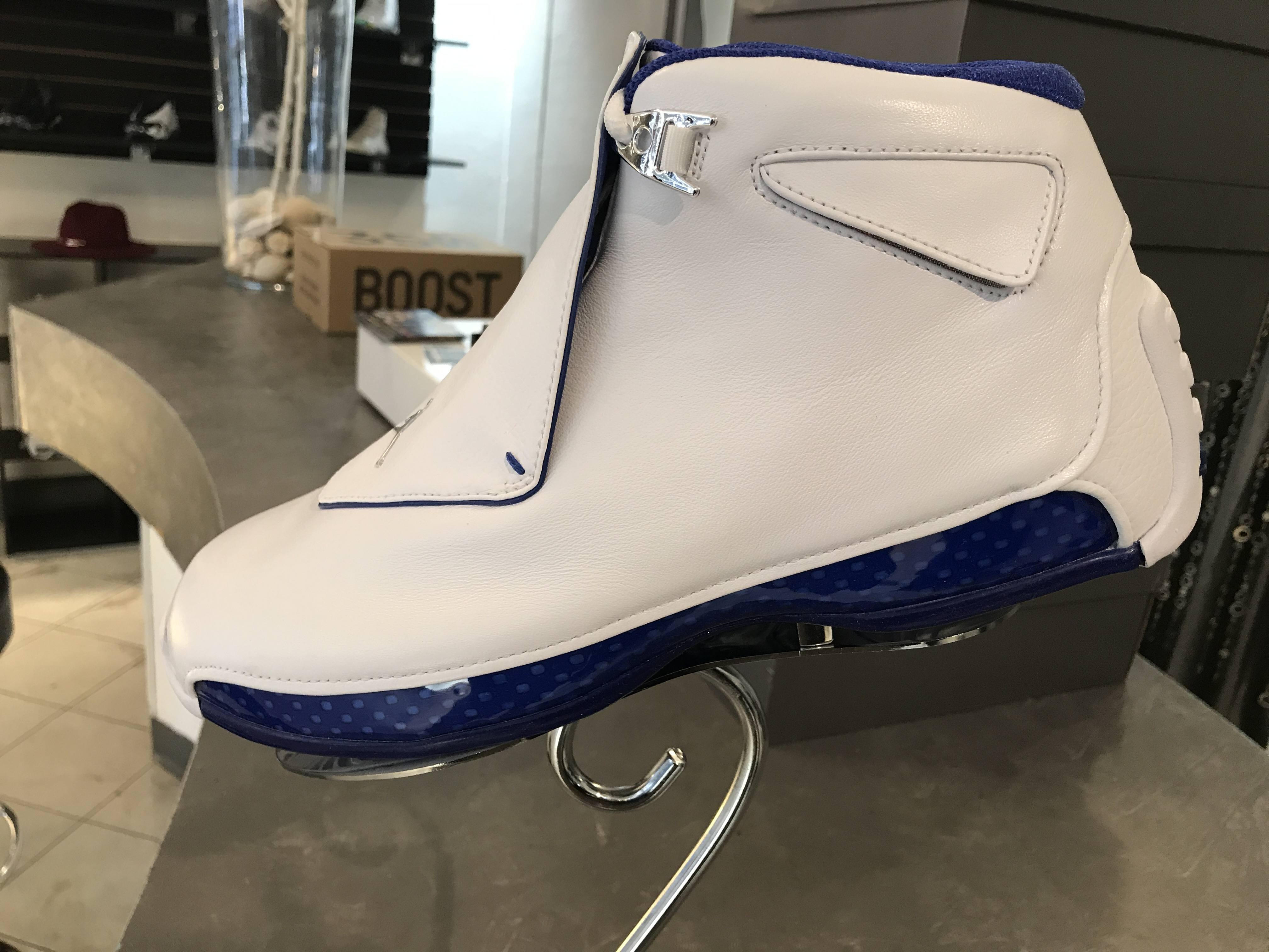"JORDAN 18 RETRO "" WHITE SPORT ROYAL 2018"""