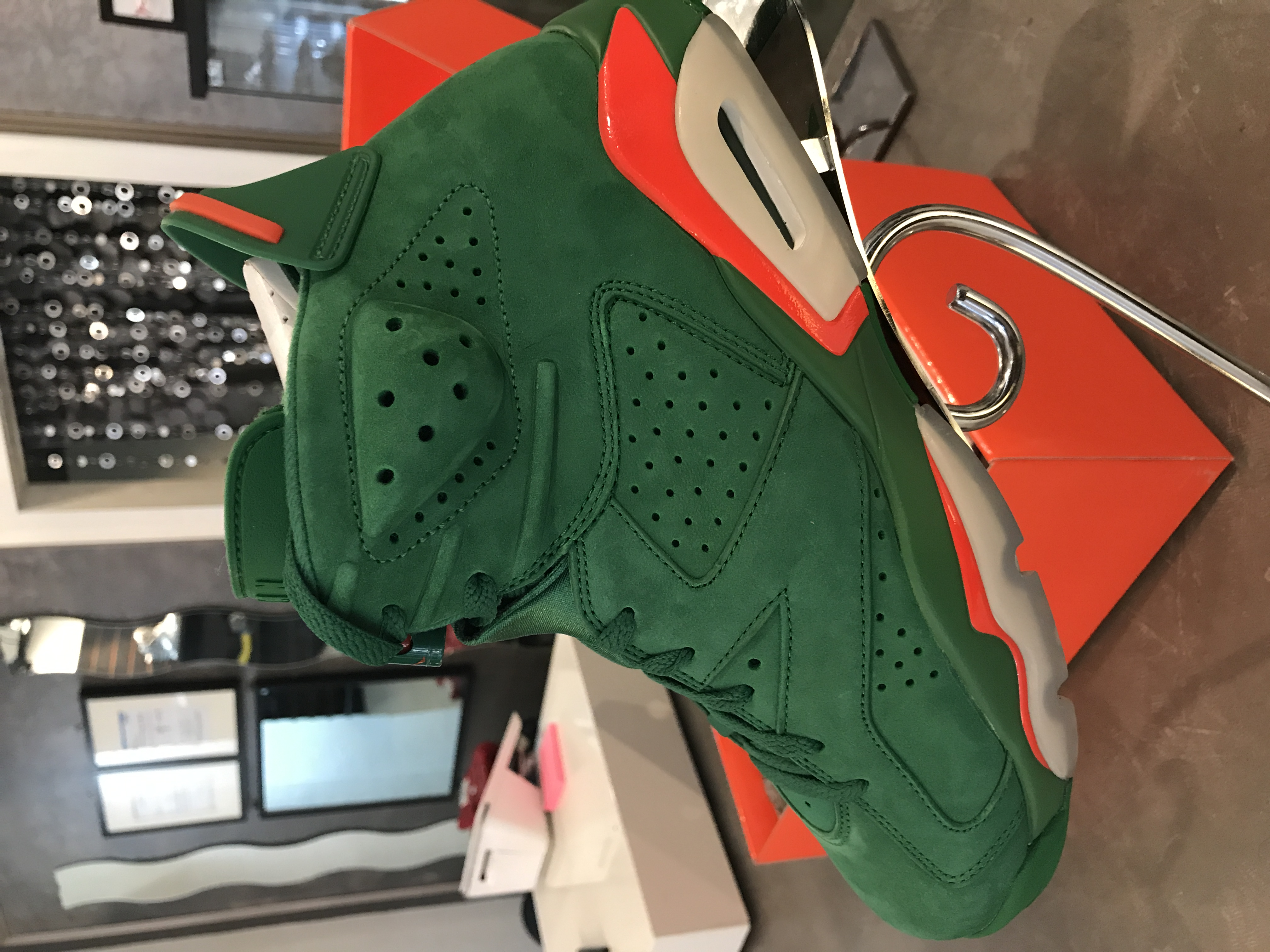 "JORDAN 6 RETRO ""GATORADE QUICK STRIKE"""