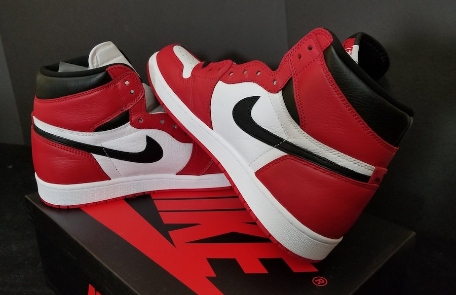 "JORDAN 1 RETRO "" HOMAGE TO HOME ""  NOT NUMBERED"