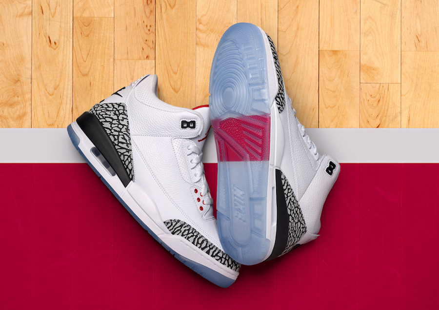 "JORDAN 3 RETRO "" FREE THROW LINE"" 2018"