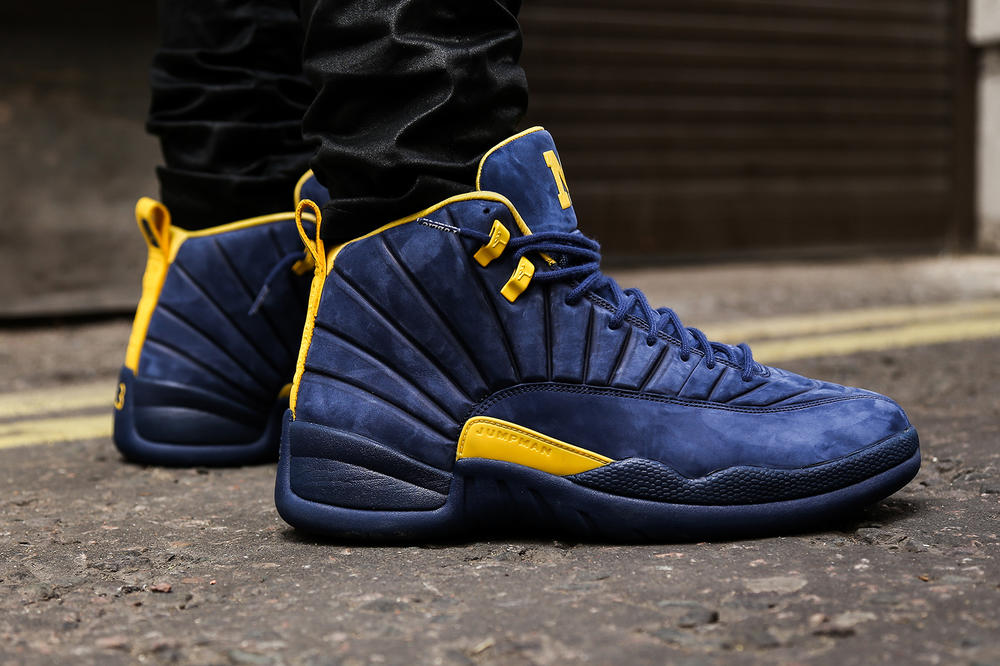 JORDAN 12 RETRO MICHIGAN 12 2018