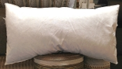 "PF1222 - 12"" x 22"" Hypo-Allergenic Feathered Down Pillow Insert"