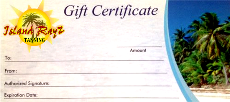 $140 Gift Certificate