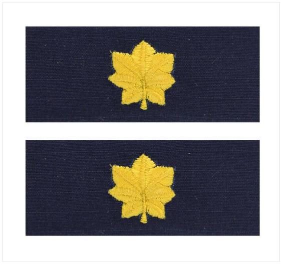 Utility Tactical Uniform (UTU) Embroidered Major (MAJ)