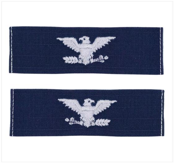 Utility Tactical Uniform (UTU) Embroidered Lieutenant Colonel (LTC)