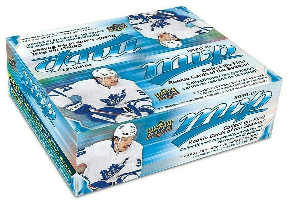 2020 21 Upper Deck MVP NHL Hockey Sealed Box