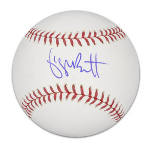 George Brett signed OMLB