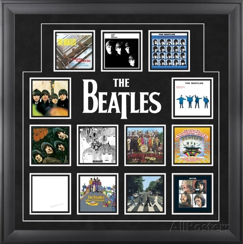 The Beatles Album Covers Collage