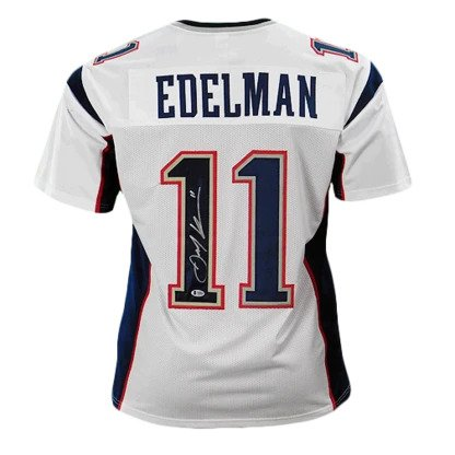 Julian Edelman signed New England Patriots Jersey (Beckett)