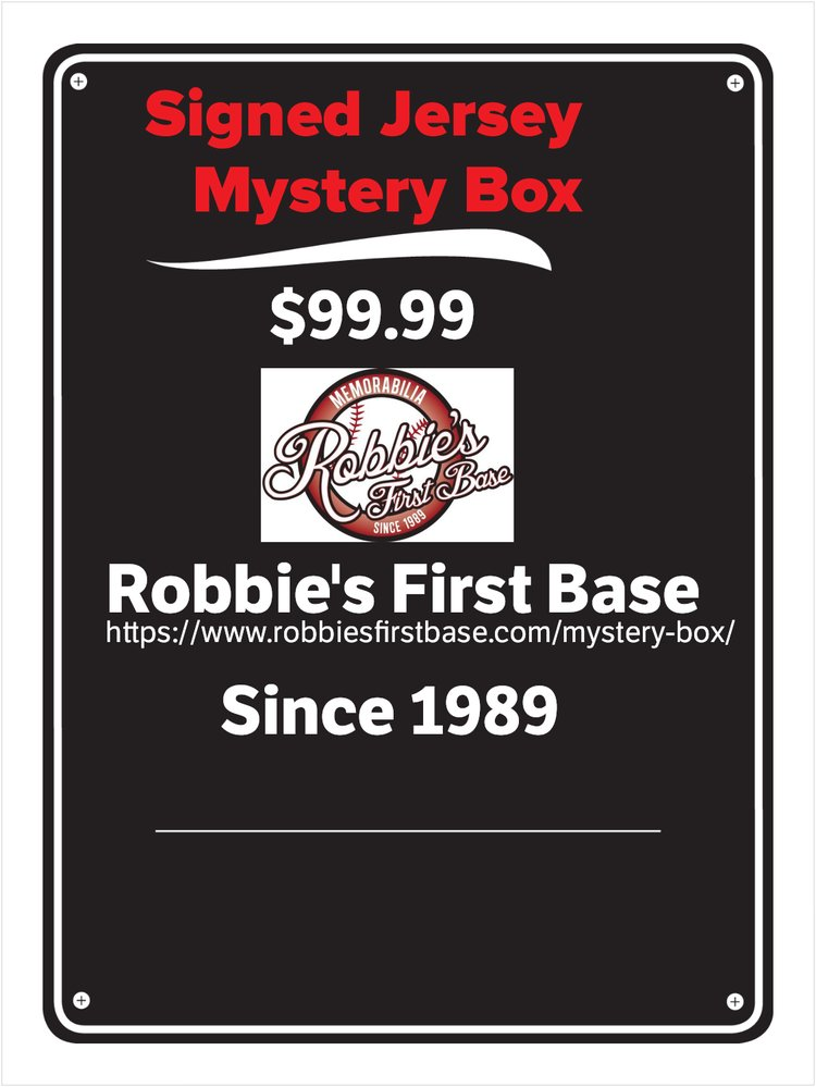AUTOGRAPHED JERSEY MYSTERY BOX