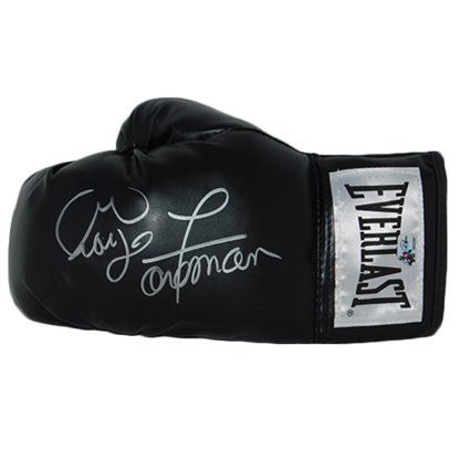 GEORGE FOREMAN SIGNED BOXING GLOVE