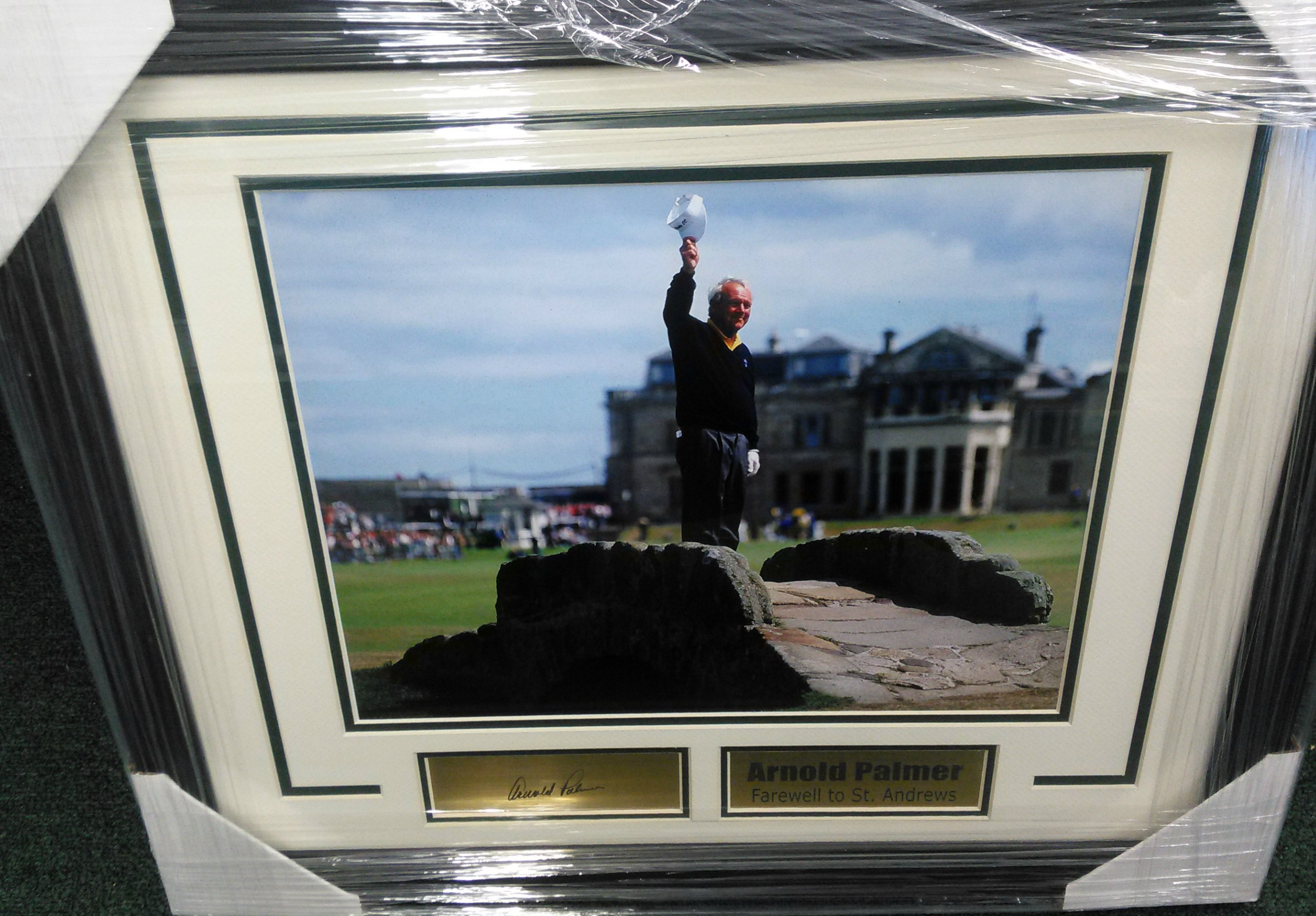 Arnold Palmer Farewell to St. Andrews***