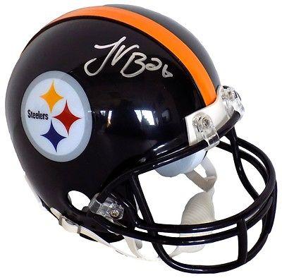 Le'Veon Bell Signed Pittsburgh Steelers Mini Helmet JSA